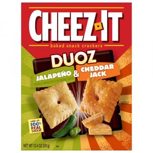 Sunshine Cheez-It Duoz Jalapeno and Cheddar Jack Crackers