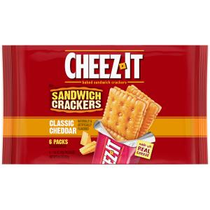 Cheez-it Sandwich Crackers Classic Cheddar