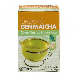 Eden Organic Genmaicha Tea Bags w/Brown Rice