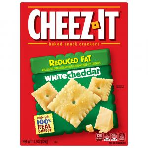 Cheez-It Reduced Fat White Cheddar Crackers
