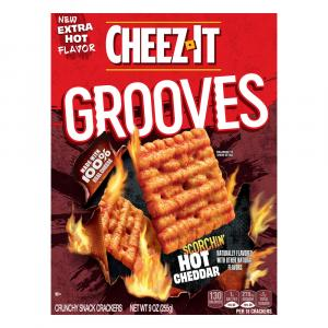 Cheez-It Snap'd Scorchin Hot Cheddar