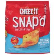Cheez-It Snap'd Cheddar & Sour Cream