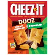 Cheez-It Duoz Sharp Cheddar Parmesan Crackers
