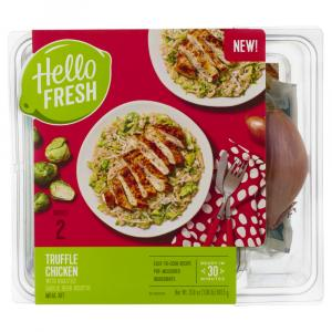 Hello Fresh Meal Kit Truffle Chicken