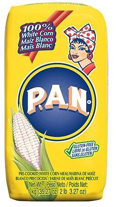 P.A.N. White Corn Meal