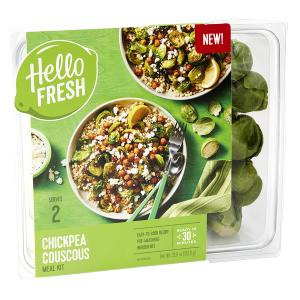Hello Fresh Meal Kit Chickpea Couscous