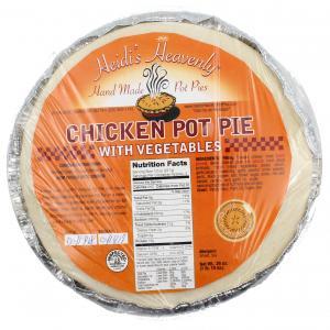 Heidi's Heavenly Chicken With Vegetables Pot Pie