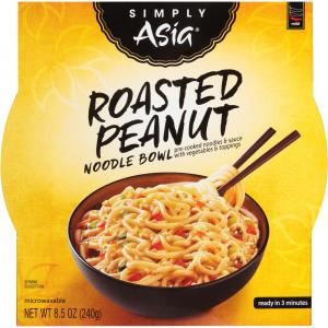 Simply Asia Roasted Peanut Noodle Bowl