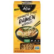 Simply Asia Japanese Style Ramen Noodles