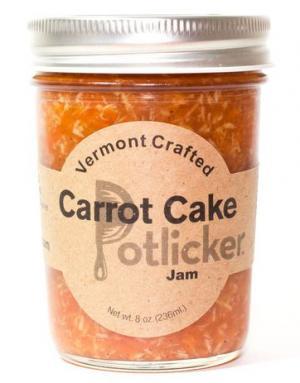 Potlicker Kitchen Carrot Cake Fruit Jam