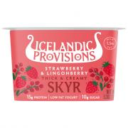 Icelandic Provisions Skyr Strawberry Lingonberry Yogurt
