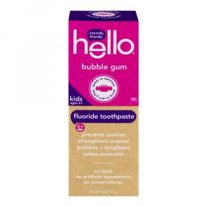 Hello Kids Bubblegum Toothpaste
