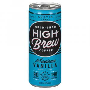 High Brew Mexican Vanilla Coffee