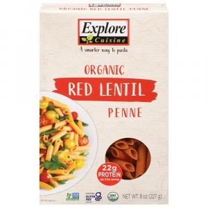Explore Cuisine Organic Red Lentil Penne