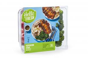 Hello Fresh Meal Kit Peppercorn Steak