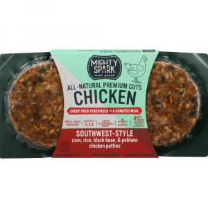 Mighty Spark Southwest-Style Chicken Patties