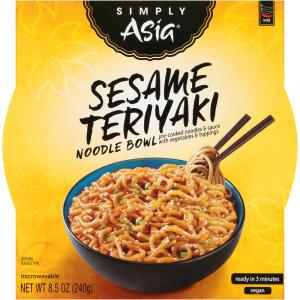 Simply Asia Sesame Teriyaki Noodle Bowl