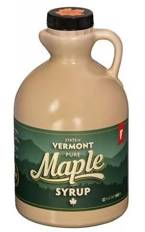 Greenwood Mountain Maple Products Grade A Amber Syrup