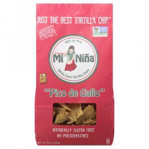 Mi Nina Pico de Gallo White Corn Tortilla Chips