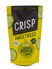 Crisp Sweetness Candied Pickle Chips