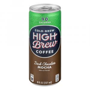 High Brew Dark Chocolate Mocha Coffee