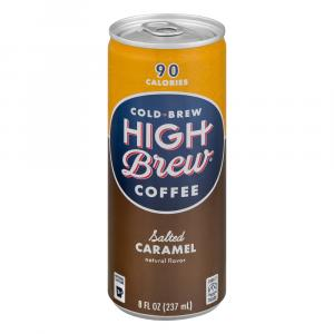 High Brew Salted Caramel Coffee