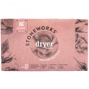 Stoneworks Dryer Sheets Rose Petal