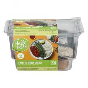 Hello Fresh Meal Kit Sweet as Honey Chicken