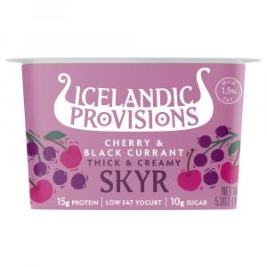 Icelandic Provisions Skyr Cherry Black Currant Yogurt