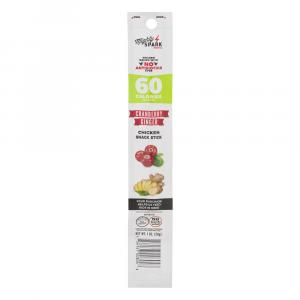 Mighty Spark Cranberry & Ginger Chicken Snack Stick