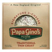 Papa Gino's Signature 3 Cheese Traditional Thin Crust