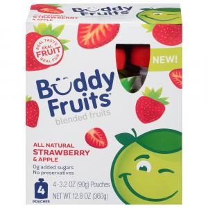 Buddy Fruits All Natural Strawberry Apple
