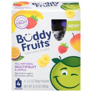 Buddy Fruits All Natural Multi Fruit & Apple