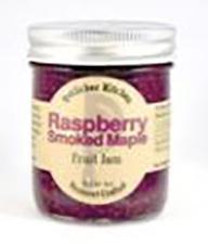 Potlicker Kitchen Raspberry Smoked Maple Fruit Jam