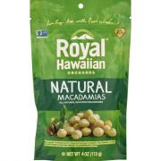 Royal Hawaiian Orchards Gluten Free Natural Macadamias
