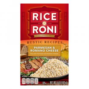 Rice A Roni Nature's Way Parmesan & Romano Cheese