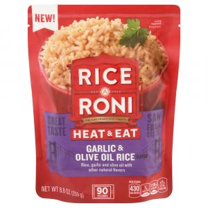 Rice A Roni Heat & Eat Garlic & Olive Oil Rice