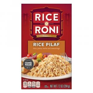 Rice A Roni Pilaf