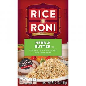 Rice A Roni Herb & Butter
