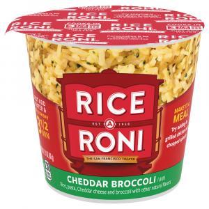 Rica A Roni Cheddar Broccoli Cup