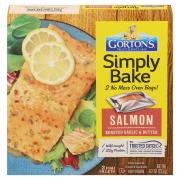 Gorton's Simply Bake Salmon Roasted Garlic and Butter