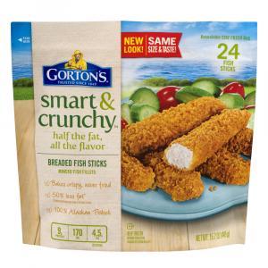 Gorton's Smart & Crunchy Breaded Fish Sticks