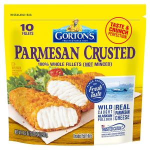 Gorton's Parmesan Crusted Fish Fillets