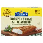 Gorton's Garlic Herb Crunchy Fillets