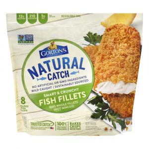 Gorton's Smart & Crunchy Breaded Fish Fillets