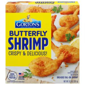 Gorton's Butterfly Shrimp Breaded Tail-On Shrimp