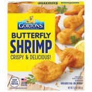 Gorton's Butterfly Shrimp Breaded Tail-On Shrimp