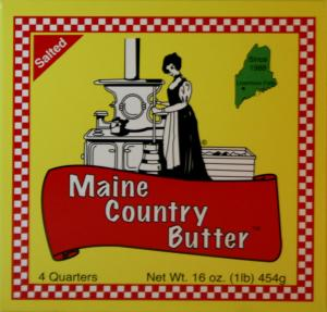 Pleasant Acres Maine Country Butter