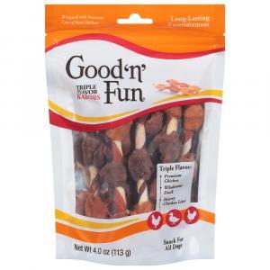 Healthy Hide Good 'n' Fun Triple Flavor Kabobs