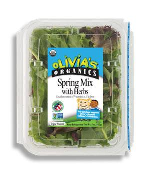 Olivia's Organic Spring Mix with Herbs